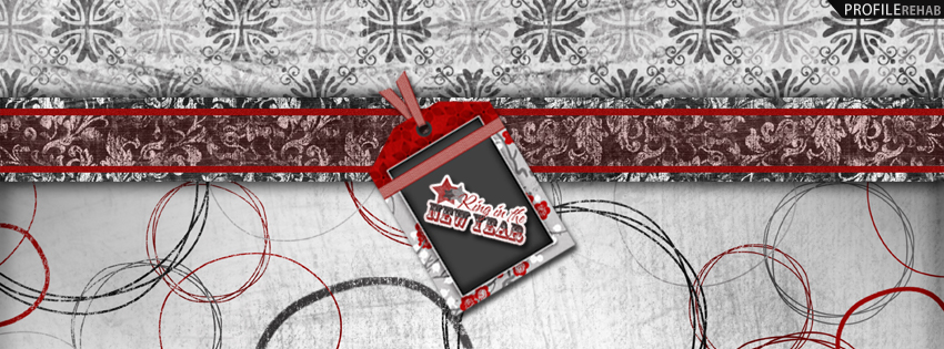 Ring in the New Year Facebook Cover
