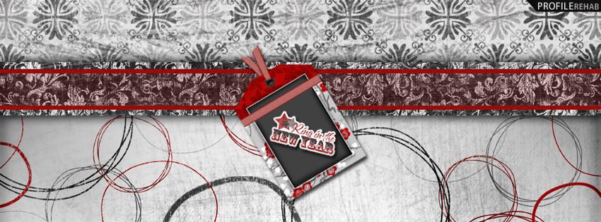 New Years facebook cover 1 اغلفة السنة الجديدة 2015 اغلفة فيس بوك للسنة الجديدة 2015