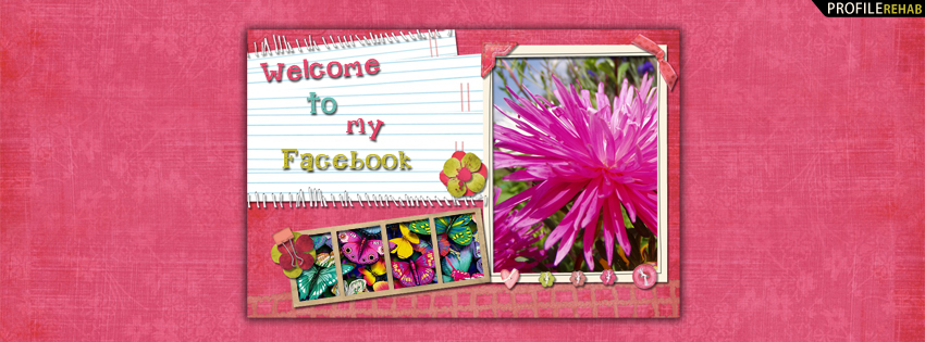 Welcome Quote Timeline Cover for Facebook