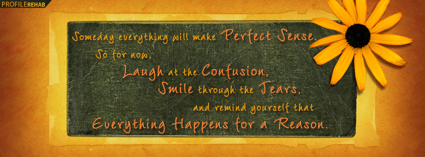Pretty Quote Facebook Cover