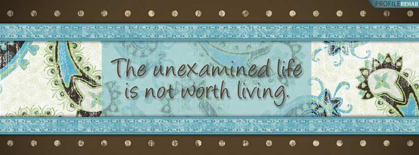 Life Quote Facebook Cover for Timeline