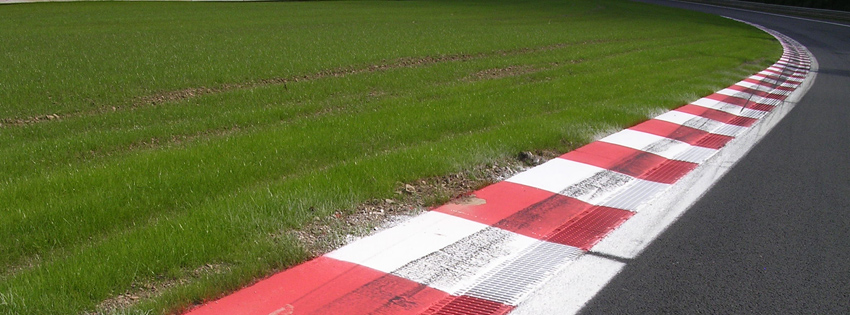 Car Race Track Facebook Cover for Timeline