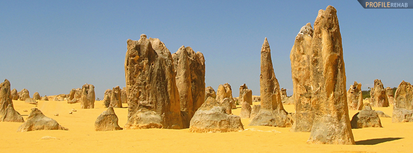 Nambung National Park Australia Facebook Cover