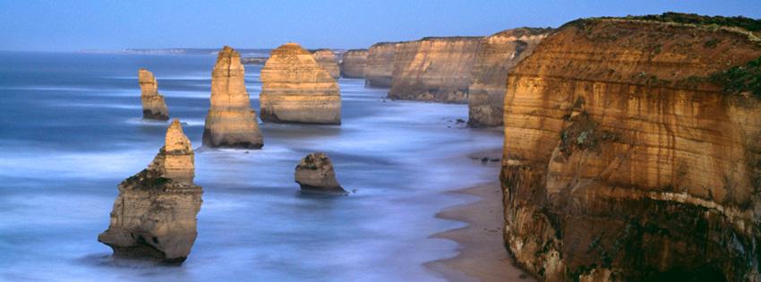 Australia Ocean Cliffs Facebook Cover