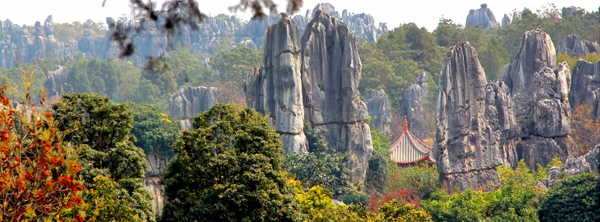 China Stone Forest Facebook Cover