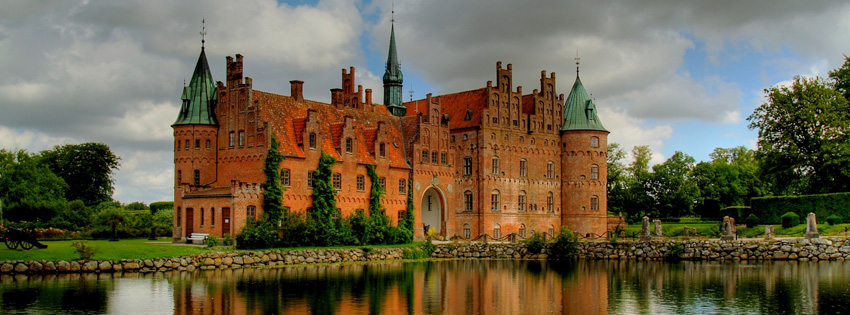 Denmark Castle Facebook Cover