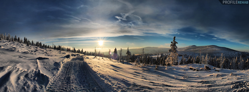 Karkonosze Mountain Facebook Cover