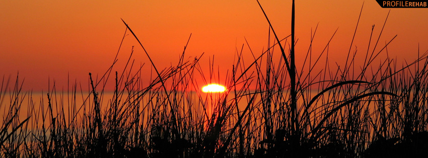 Nova Scotia Sunset Facebook Cover Preview