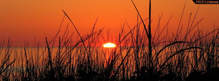 Nova Scotia Sunset Facebook Cover