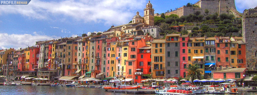 Porto Venere Italy Facebook Cover Preview
