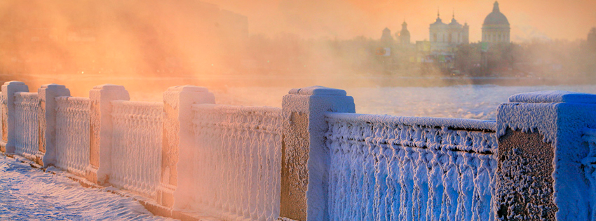 Russia Winter Facebook Cover