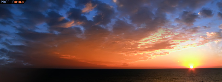 South Florida Sunset Facebook Cover