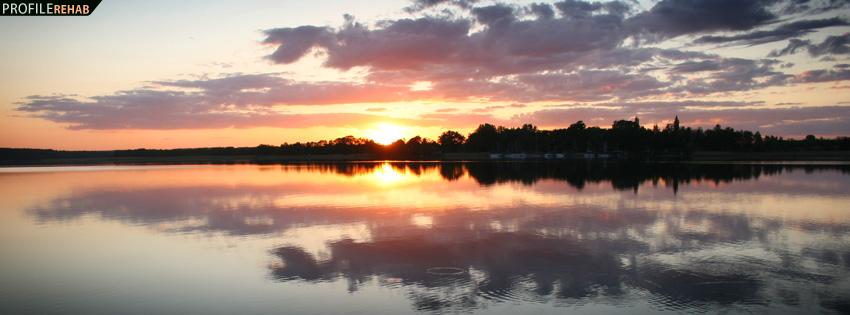 Beautiful Sunset Facebook Cover