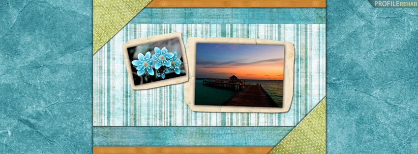 Pretty Sunset & Flowers Cover for Facebook Timeline