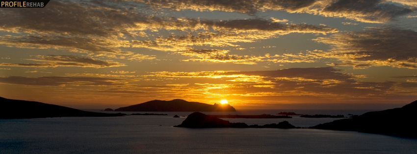 Blasket Islands Ireland Facebook Cover