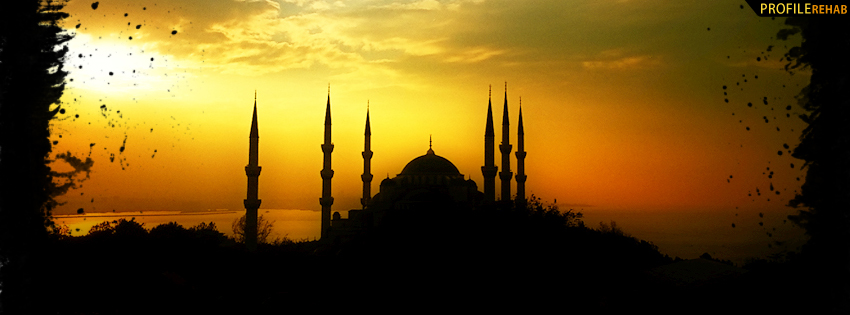 The Blue Mosque Istanbul Turkey Facebook Cover
