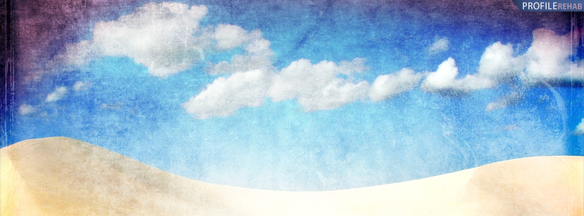Sand Dunes in Brazil Facebook Cover
