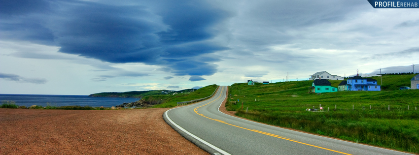 Nova Scotia Cabot Trail Facebook Cover
