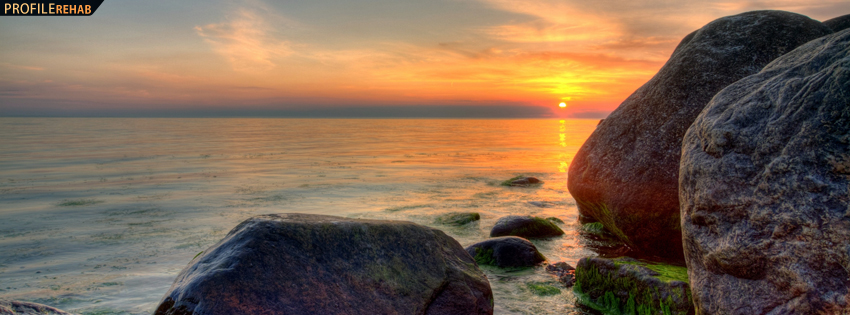 Denmark Sunset Facebook Cover