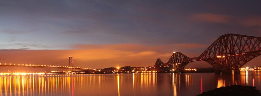 Forth Bridge Scotland Facebook Cover