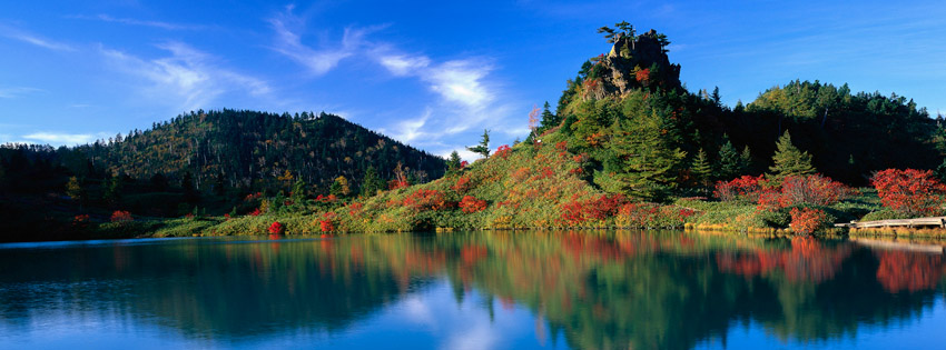 Japan Landscape Facebook Cover