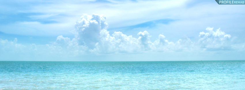 Pretty Keywest Ocean Timeline Cover