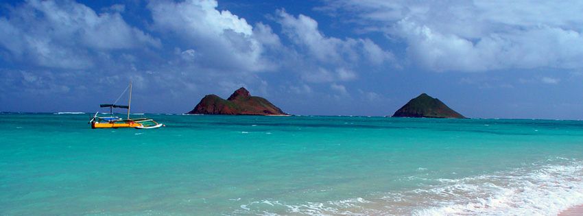 Lanikai Beach Hawaii Facebook Cover