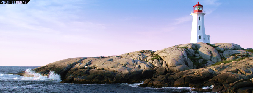 Beautiful Lighthouse Facebook Cover