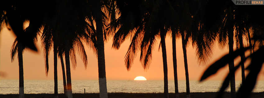 Mexico Sunset Facebook Timeline Cover