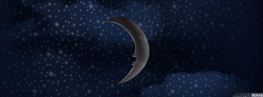 Moon & Stars Facebook Cover