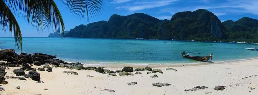 Phi Phi Beach Thailand Facebook Cover