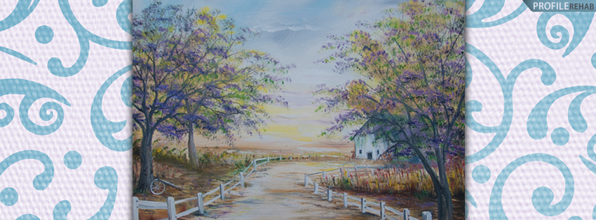 Beautiful Scenic Painting Facebook Cover