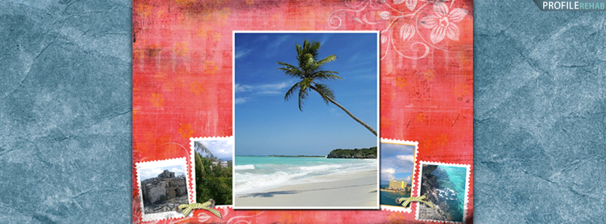Beautiful Summer Pictures for Facebook - Scenic Palm Tree Facebook Cover for Timeline