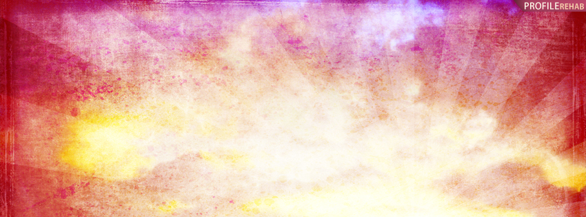 Bright Sun Burst Timeline Cover