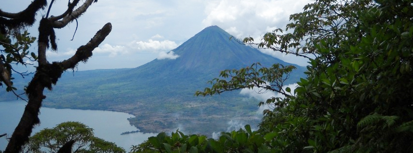 Beautiful Volcano Facebook Cover