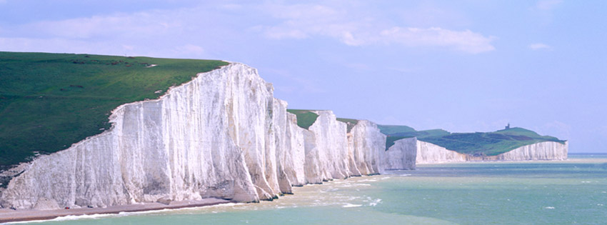 White Cliffs of Dover Facebook Cover