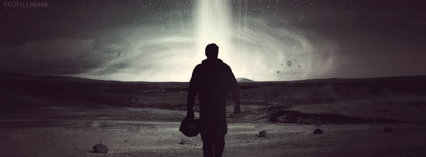 Interstellar Facebook cover Preview