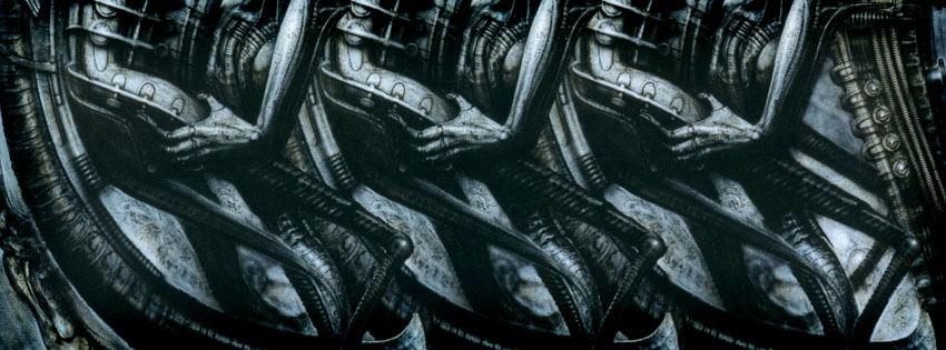 Science Fiction Giger Facebook Cover