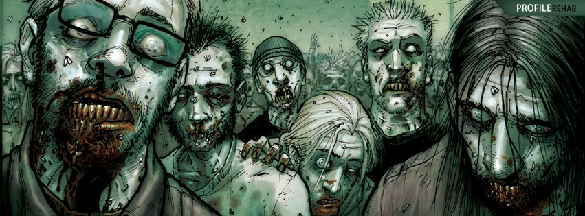 Cool Zombie Facebook Cover