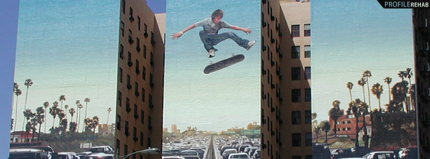 X Games Skateboard Ad Facebook Cover