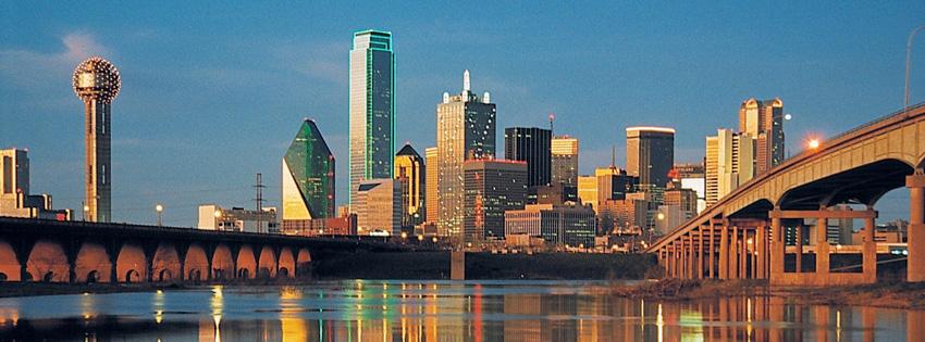 Dallas Skyline Facebook Cover
