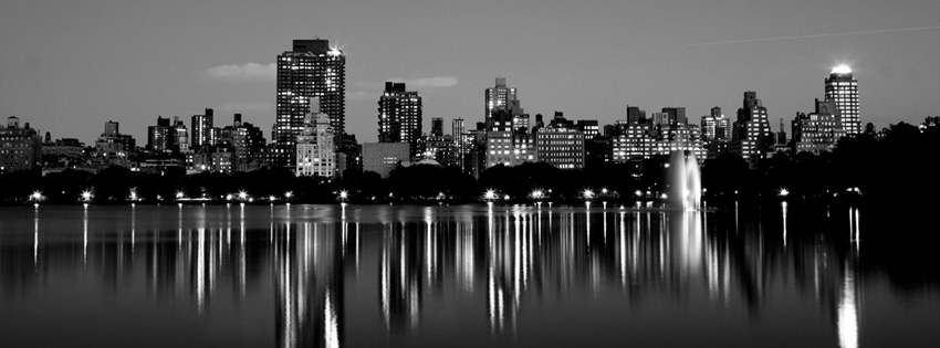New York Central Park Skyline Facebook Cover