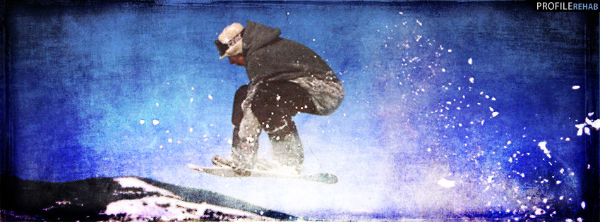 Snowboarding Facebook Cover