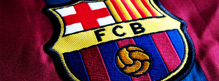 Barcelona Soccer Team Facebook Cover