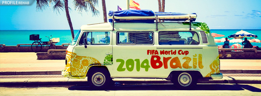 World Cup 2014 Facebook Cover Preview