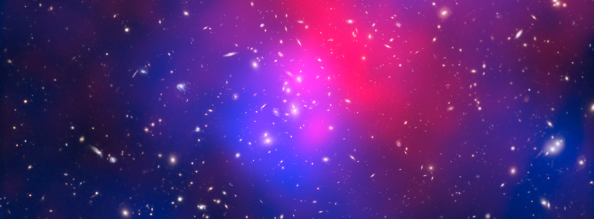 Pandora's Cluster Hubble Telecsope Cover