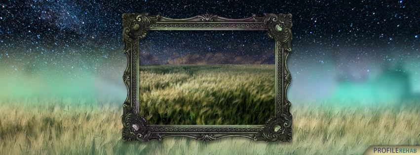Unique Fields of Stars Facebook Cover Preview