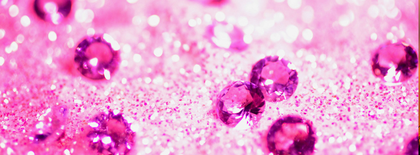 Pink Glitter Facebook Cover Preview