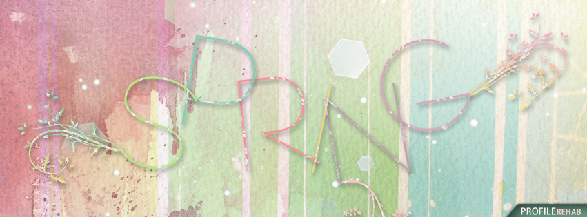 Pastel Spring Facebook Covers Preview