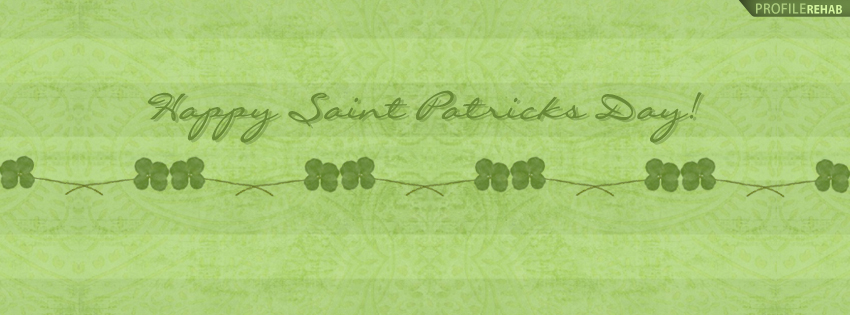 Happy Saint Patricks Day Facebook Timeline Cover - Happy St Patricks Day Pictures Free